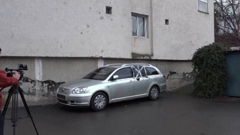 Mașina unui polițist din Târgu Mureș, care a sancționat persoane influente, incendiată. Ar fi o răzbunare
