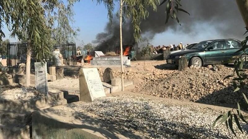 Atac sinucigaş în Afganistan, în timpul unor funeralii oficiale. Cel puţin 12 morţi