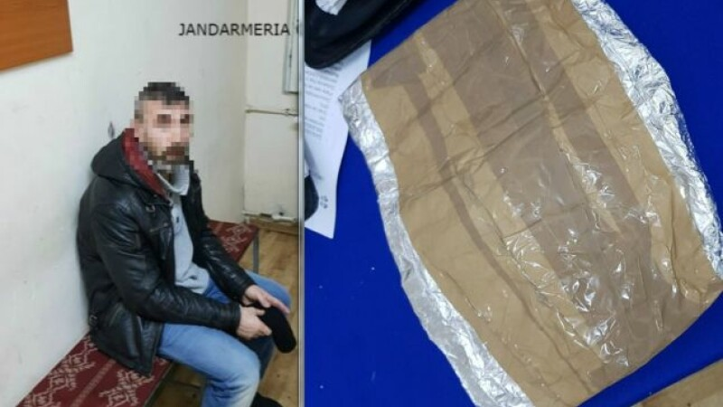 Bărbat aflat în arest la domiciliu, prins la furat într-un supermarket din Galaţi