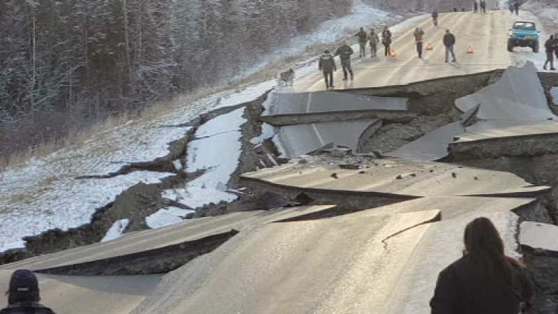 cutremur, alaska, anchorage, panica