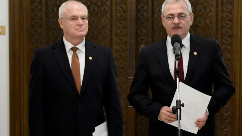 Liviu Dragnea, Eugen Nicolicea
