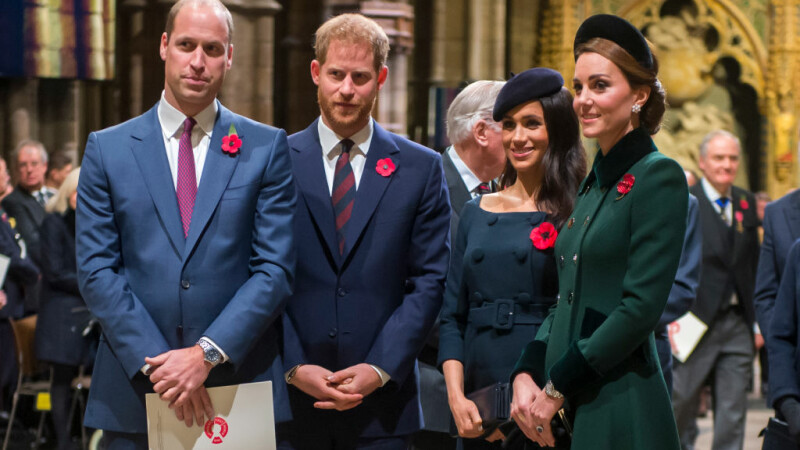 Relație tensionată între Harry și William. Cearta dintre prinți a pornit de la Meghan Markle