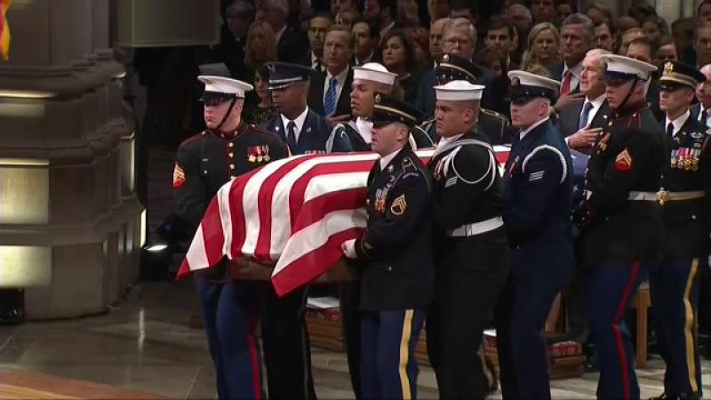 funeralii Bush