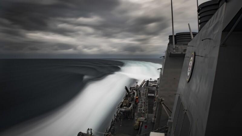 Americanii trimit o navă de război în Marea Neagră, ca răspuns la conflictul Rusia-Ucraina