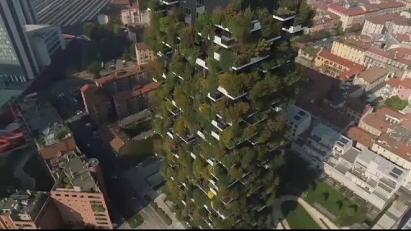 Insulele de verdeață create de un arhitect, în centrul orașului Milano. Proiectul autorităților