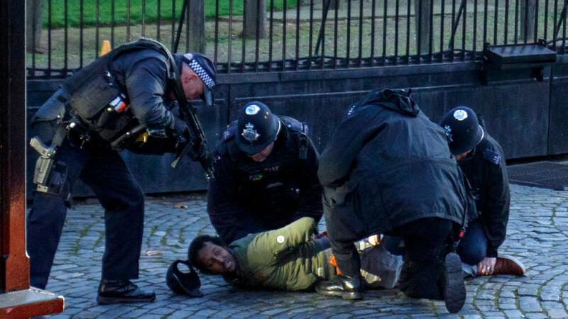 Incident de securitate la parlamentul britanic