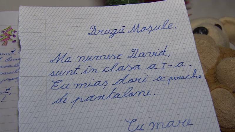 scrisoare Mos Craciun
