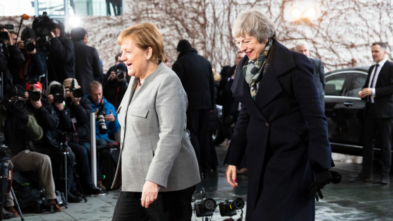 angela merkel si theresa may