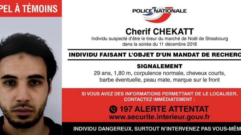 autor atac, Cherif Chekatt