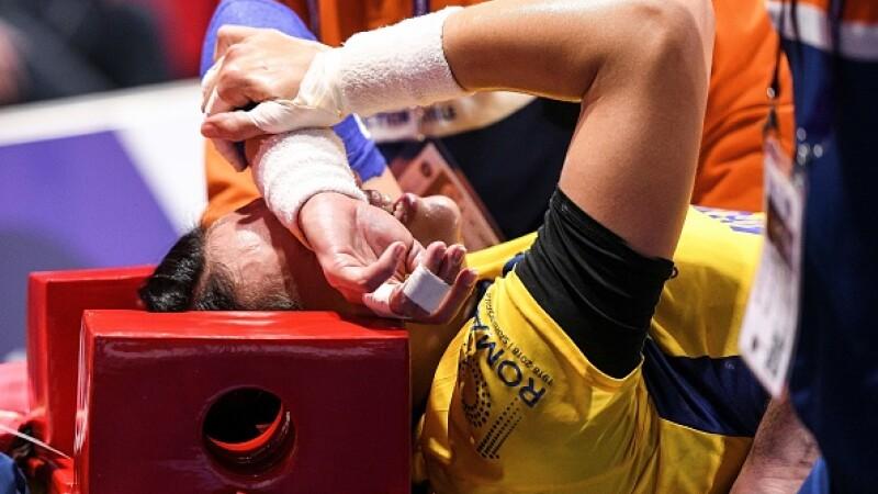 Prima reacție a Cristinei Neagu, după accidentarea din timpul meciului cu Ungaria