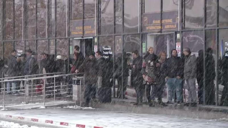 aeroport Timisoara inzapezit