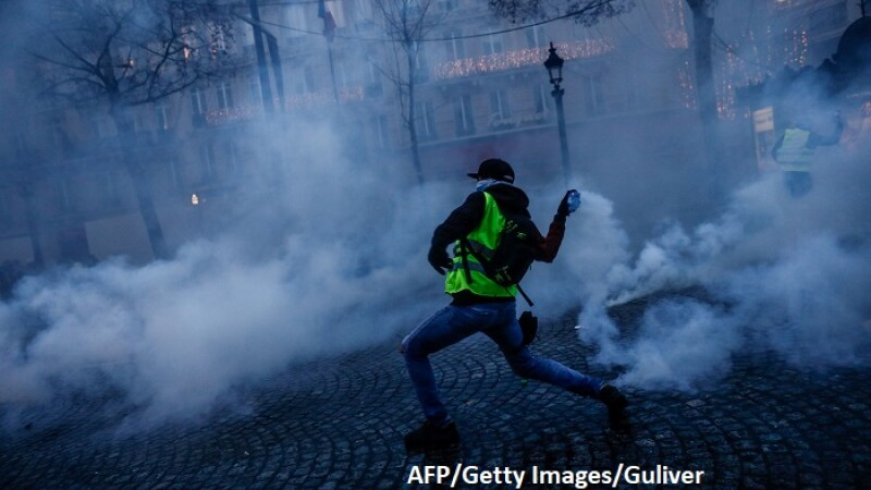 Proteste Paris - Getty