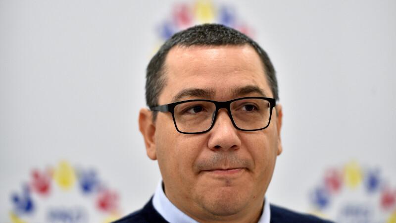 """Ponta îl acuză pe Dragnea că este """"un trădător de țară"""": """"E chiar cea mai mare ticăloşie"""""""