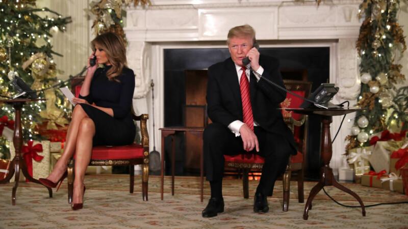 Trump i-a sugerat la telefon unui copil că Moş Crăciun nu exista