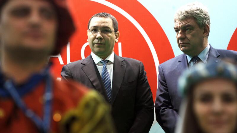 Mihai Tudose, Victor Ponta