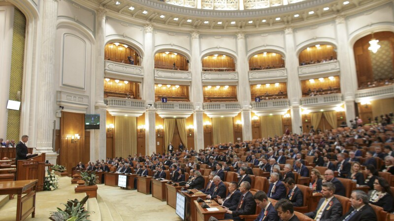 plenul Parlamentului
