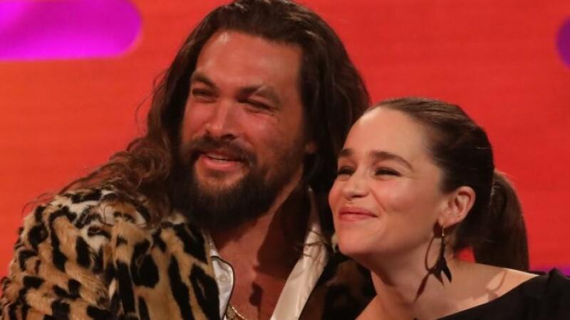 Cum a ajutat-o Jason Momoa pe Emilia Clarke să riposteze împotriva scenelor nud