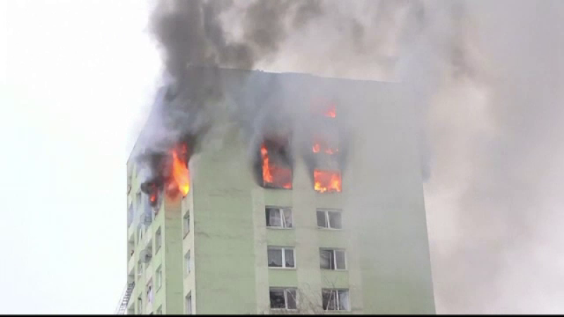 explozie bloc slovacia
