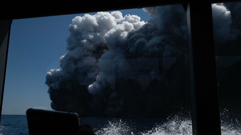 Erupție vulcanică în Noua Zeelandă - 3