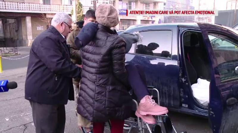 Drama unei copile, paralizată după ce a fost accidentată pe trecerea de pietoni. Nu s-a făcut dreptate nici după 4 ani