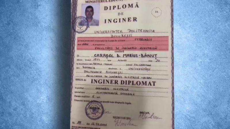 diploma falsa marius carasol