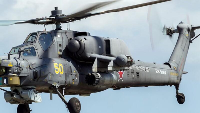 Elicopter militar prăbușit în Rusia