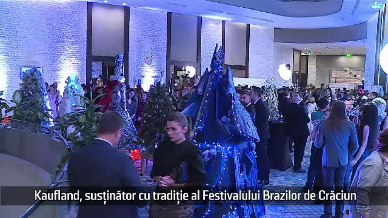 Kaufland, susținător cu tradiție al Festivalului Brazilor de Crăciun