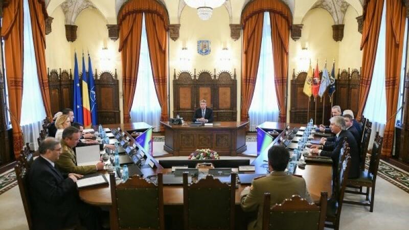 A început şedinţa CSAT pentru propunerile de buget pe 2020 ale instituţiilor din Apărare