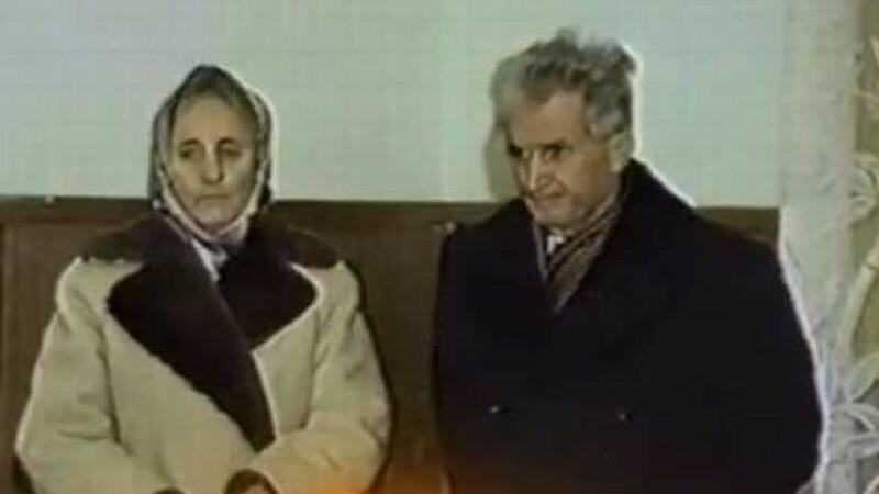 Elena Ceausescu, Nicolae Ceausescu