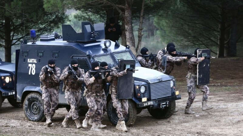 Operațiune de amploare în Turcia
