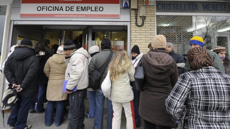 Somaj record in Zona Euro. Romania, printre cele mai putin afectate tari la acest capitol