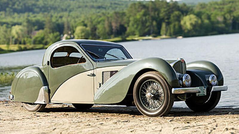Bugatti coupe