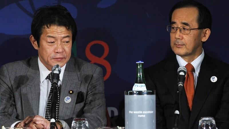 Ministrul japonez de finante