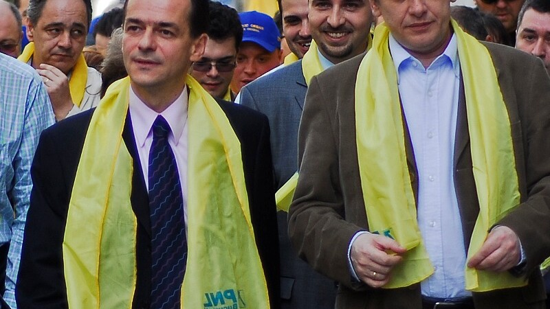 Ludovic Orban si Crin Antonescu