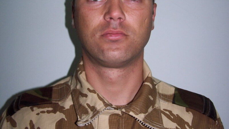 Sergent major Claudiu Chira