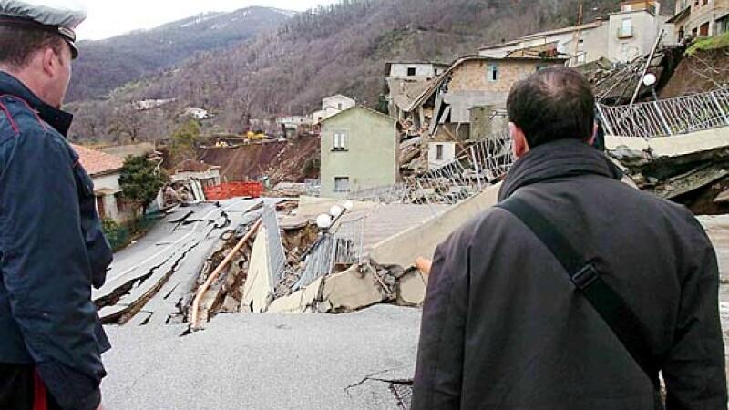 alunecare de teren