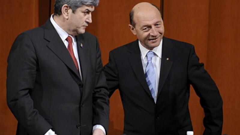 Gabriel Oprea si Traian Basescu