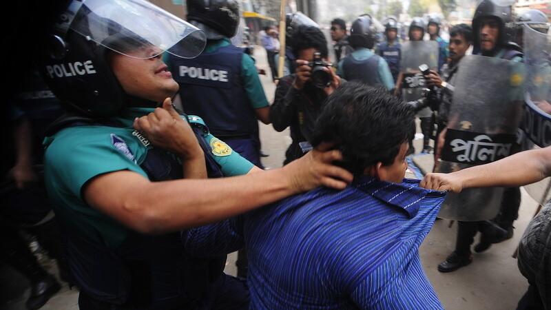 proteste Bangladesh