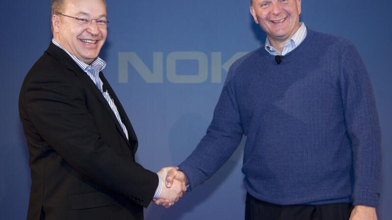 Seful Nokia, Stephen Elop,(st) si cel al Microsoft, Steve Ballmer