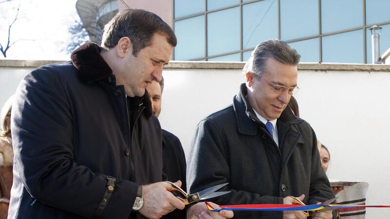 Vladimir Filat si Cristian Diaconescu