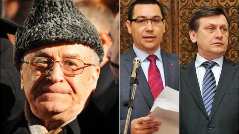 Iliescu, Ponta si Antonescu