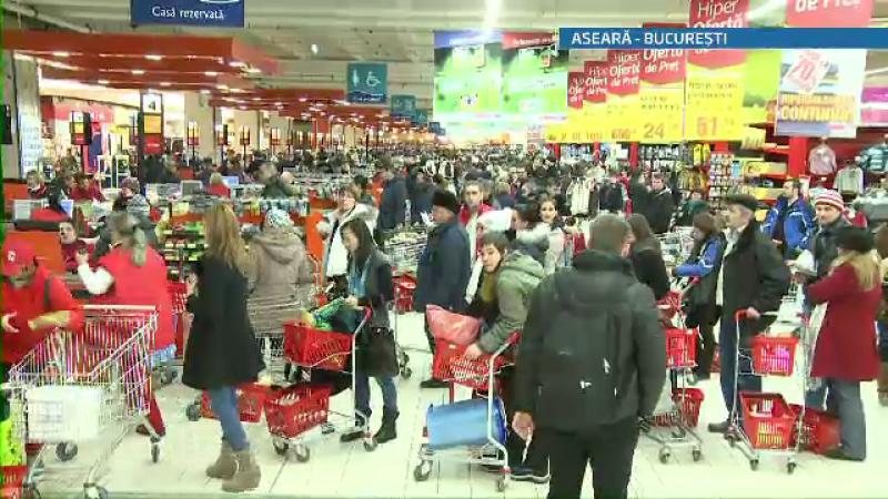 Aglomeratie supermarket