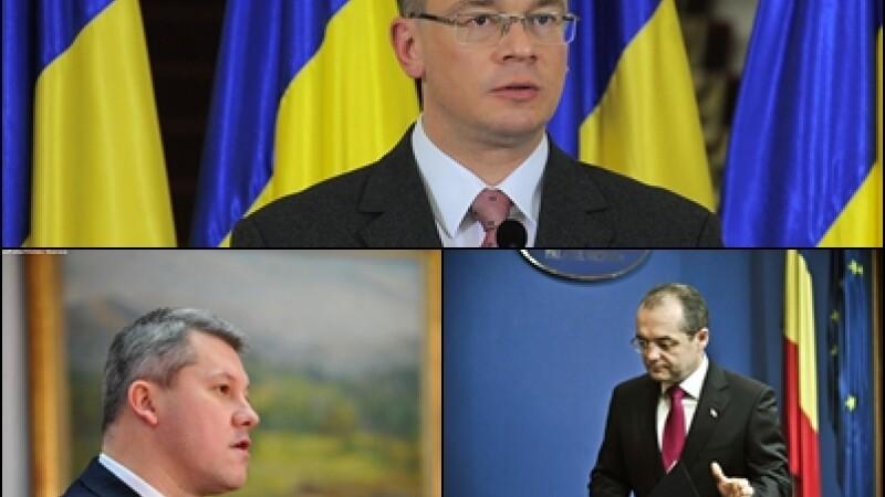 Catalin Predoiu, Mihai Razvan Ungureanu si Emil Boc