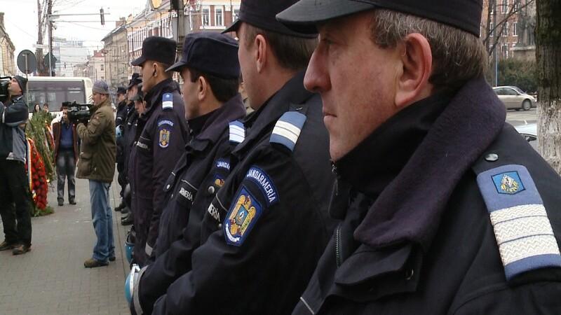 Jandarmii au avut o luna incarcata.