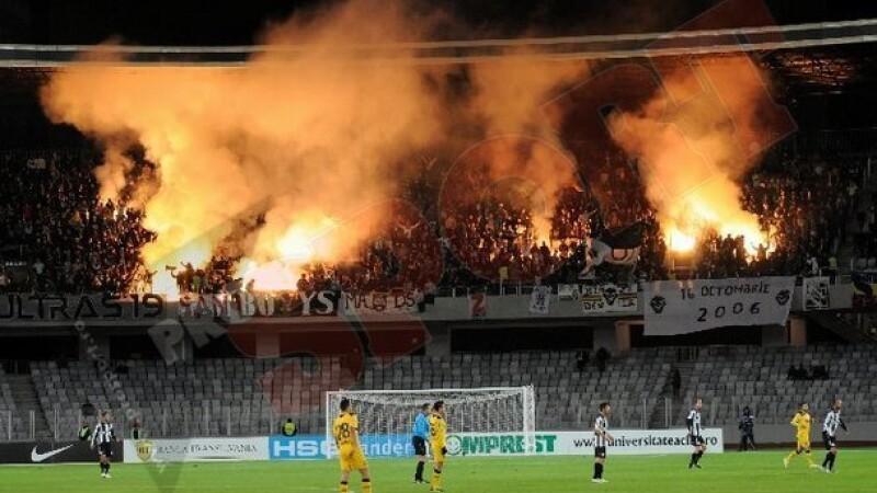 U Cluj a avut o medie de 6258 de spectatori, la meciurile de acasă, în turul campionatului, conform site-ului www.liga1.ro