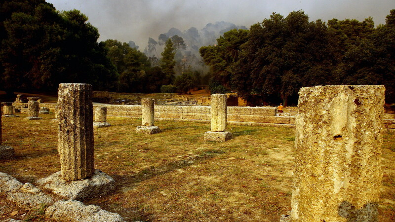 Site-ul istoric din Olimpia, Grecia