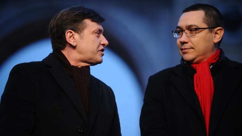 Victor Ponta s-a intors obosit din SUA, dar optimist. Antonescu face glume pe seama lui