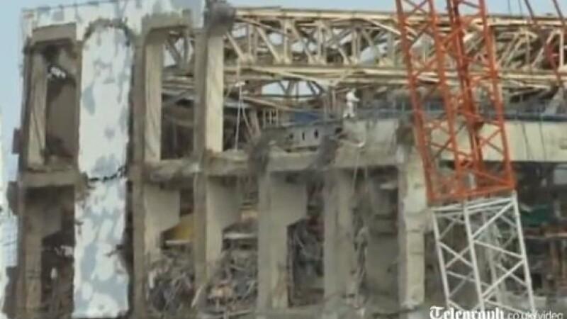 VIDEO. Cum arata centrala nucleara de la Fukushima la 11 luni de la dezastru