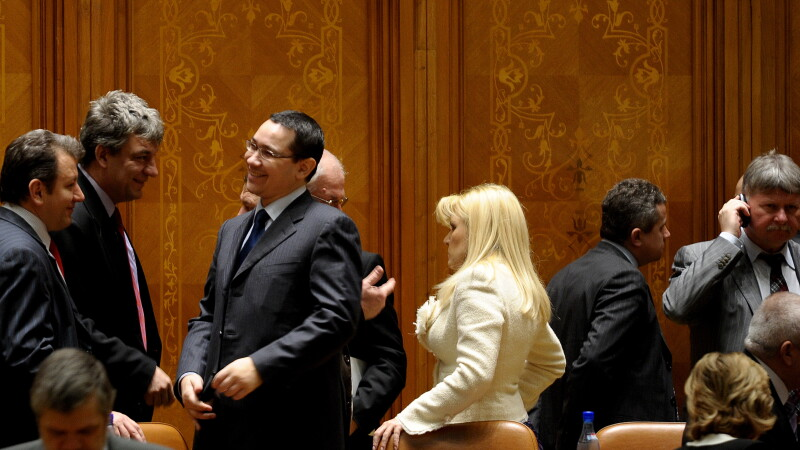 Victor Ponta si Elena Udrea