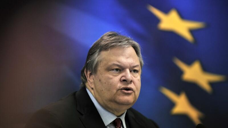 Ministrul grec de Finante, Evangelos Venizelos